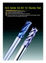 Picture of Solid Carbide End Mill  For Stainless Steel